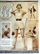 * lei N° 29/ 15/LUG/1952 * Rivista di moda *