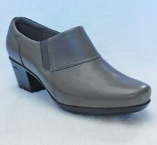 W67 Clarks Collection Gray Women's Emslie Craft Shooties Shoes - Size 9.5 W