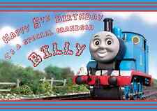 Thomas the Tank Engine Personalised A5 birthday card brother grandson name age