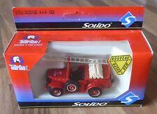 Dodge 4 x 4 SDI Firetruck 1:50 scale model by Solido