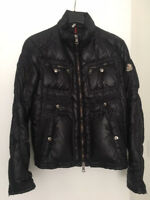MONCLER puffer. Dark blue. Size 3 (large). Great condition! 100% AUTHENTIC