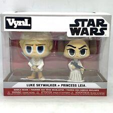Funko Vynl Star Wars 2 Pack - Luke Skywalker & Princess Leia