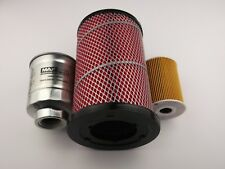 Nissan Navara Filter Kit oil,air,fuel suits D22 models with 3.0l ZD30 2001-2005