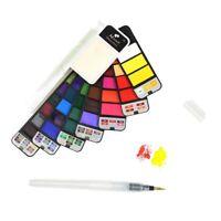 Watercolor Paint Set ,42 Colors, Professional Watercolor Field Sketch Art Set