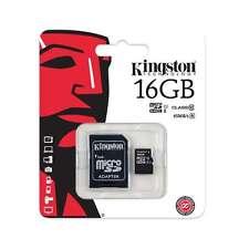 GENUINE KINGSTON MEMORY CARD 16GB CLASS 10 MICRO SD SDHC UNIVERSAL CAMERA PHONE