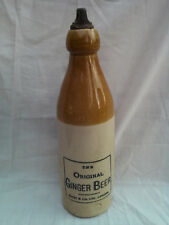 Batey London Original Ginger Beer bottle large giant size with stopper