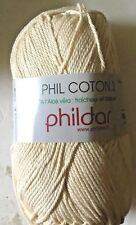 Phil Coton 3 by Phildar 50g Ball Shade Ecru