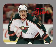 Item#2715 Zach Parise Minnesota Wild Facsimile Autographed Mouse Pad
