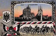 Erfurt, Dom und Severinskirche, Patriotik 1. WK, Feldpost 1915
