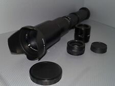 Nikon DIGITAL fit 500mm 1000mm 1500mm tele lens D3200 D3300 D3400 D5200 D5300 +