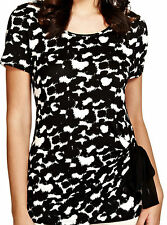 Marks and Spencer Women's Animal Print Semi Fitted Tops & Shirts
