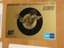 CITY HUNTER 50TH ANNIVERSARY ULTRA RARE LIMITED 1000 CARDDASS CARD CARTE JAP NM