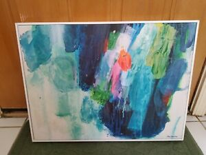 Claire Desjardins Canvas Art Print - Floating Frame - Raised Feels Like Painting