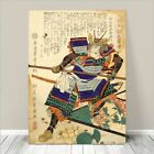 "Vintage Japanese SAMURAI Warrior Art CANVAS PRINT 36x24""~ Kuniyoshi #278"