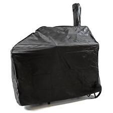 Schutzhülle Smoker Abdeckung Wetterschutz Grillhaube 120g/PVC 120x65 cm schwarz