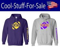 Minnesota Vikings Football Pullover Hooded Sweatshirt