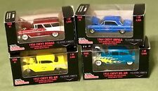 1998 racing champions lot of 4 chevy's Issue #1 of 5,000 classic 1955-1964 NEW