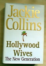 SIGNED Jackie Collins-Hollywood Wives The New Generation 1/1 VG/VG
