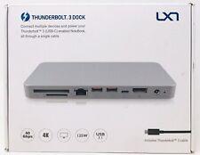 Lxt Thunderbolt 3 Dock-60W Charging, Dual 4K@60Hz Display