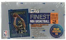 1995-96 Topps Finest Basketball Series 2 Factory Sealed Hobby Box, 24ct Jordan?