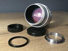 TAIR-11 133mm f/2.8 SLR lens (Zorkiy, FED) Mount M42 M39 Leica M