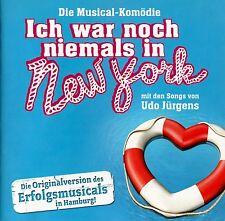 ICH WAR NOCH NIEMALS IN NEW YORK - DIE MUSICAL-KOMÖDIE - SONGS: UDO JÜRGENS / CD