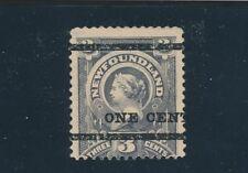 Newfoundland (1897) VICTORIA OVERPRT SC #76 MH CV $300