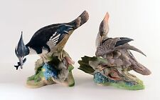 "Boehm Porcelain Sculpture 496 ""HOODED MERGANSERS"" Direct From Showroom"