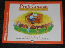 Alfred's Basic Piano Library-Solo Book-Level A-NEW!!!