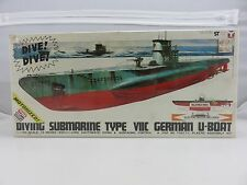 Yamada Scale Craft DIVING SUBMARINE TYPE VIIC GERMAN U-BOAT Motorized Kit SEALED