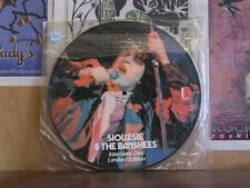 SIOUXSIE & THE BANSHEES, INTERVIEW PICTURE DISC LP