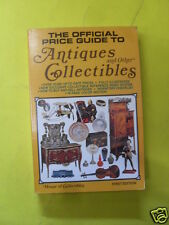 MCFARLAND - THE OFFICIAL PRICE GUIDE TO ANTIQUES AND OTHER COLLECTIBLES