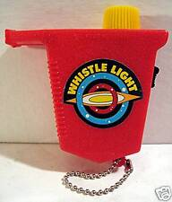 Space Toy Whistle FlashLight / Old Dime Store Stock