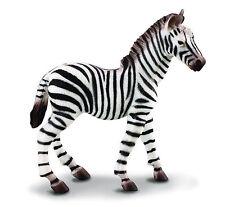 CollectA 88168 African Common Zebra Foal - Wildlife Toy Figurine Replica - Nip