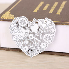 Heart-shaped Metal DIY Cut Die Stencil Scrapbook Album Paper Card Emboss Craf_DM