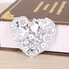 Heart-shaped Metal Diy Cut Die Stencil Scrapbook Album Paper Card Emboss Craft E