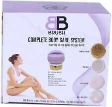 Bb Brush Rotating 4 in 1 Body Cleansing System, Care Set, Exfoliaton, Electric