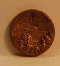 1947 Sons Of The Utah Pioneers Commemorative Medal Mormon Utah