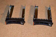 "2x Genuine Original IBM 2.5"" Caddy Tray 44T2216 x3550 x3650 x3500 x3400 M2 M3 M4"