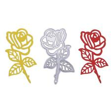 Rose Metal Cutting Dies Stencil for Scrapbook Stamp Embossing DIY Card Gift Sn9f