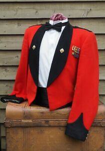 Royal Scots - Mess Dress Uniform Jacket & Miniature Medals - Scottish Army