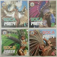 Soca Party Jumbo Pack 1 (Vol 1-4) - Party Discs, Calypso & Soca new & classic