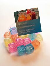 Party Eiswürfel 2 x Beutel mit 20 Stück Neu