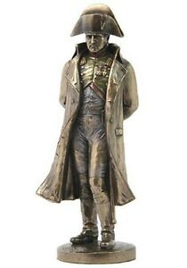 "9.75"" Napoleon Bonaparte Holding Monocular Statue French Leader Figure Figurine"