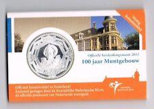 5 EURO COINCARD 100 jaar MUNTGEBOUW 2011 MET BOEKJE