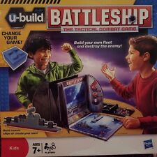 U-Build Battleship Tactical combat Game Hasbro 2010 Unpunched and complete