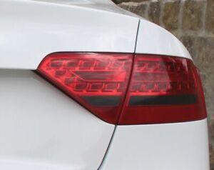 C001 Rückleuchten Folie Set Dark Grey passend für A5 B8 Aufkleber Tönung Zubehör