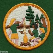 VINTAGE GIRL SCOUT  - FIRST NON-EARNED NATIONAL ISSUE PATCH