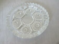 Crystal Glass Made in Italy Clear Ashtray
