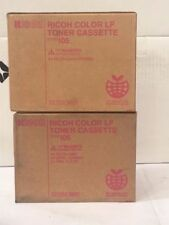 LOT OF 2 Compitable RICOH TYPE 105 MAGENTA TONER 885374 FOR AP3800C CL7000